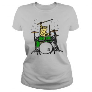 Cat Playing Drums shirt