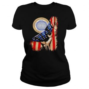 International union of north america american flag independence day shirt