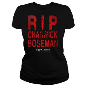 Rip chadwick boseman black panther actor 1977 2020 shirt