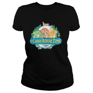The land before time a new adventure is born shirt