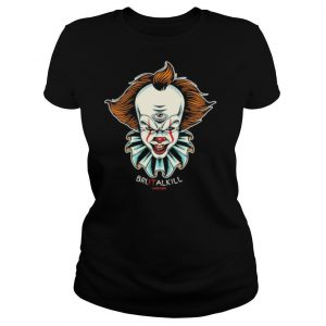 Halloween pennywise brutalkill hard core shirt