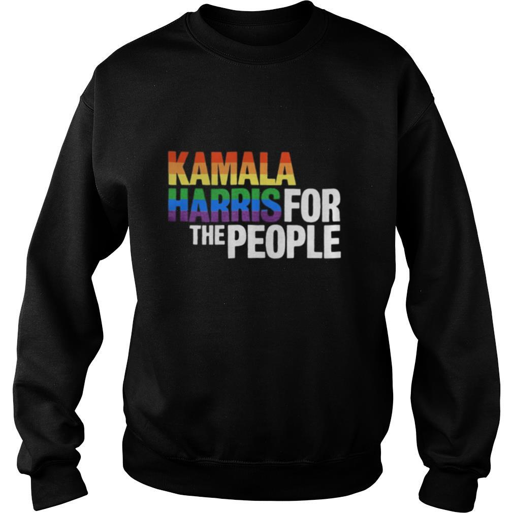 LGBT kamala harris for the people shirt