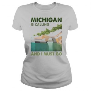 Michigan is calling and i must go vintage shirt