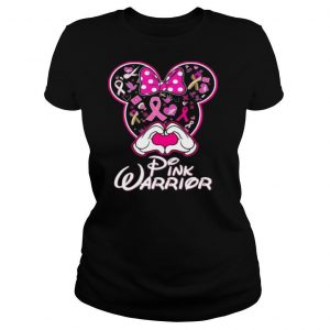 Mickey Mouse Pink Warrior shirt