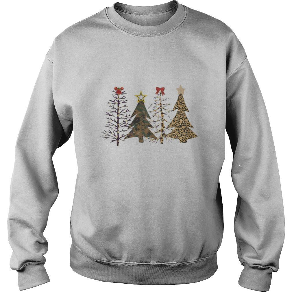Pine merry christmas star shirt