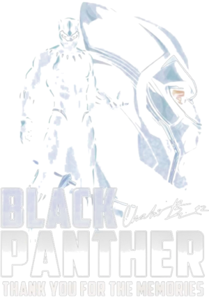 Rip Chadwick Black Panther Thank You For The Memories Signature Shirt