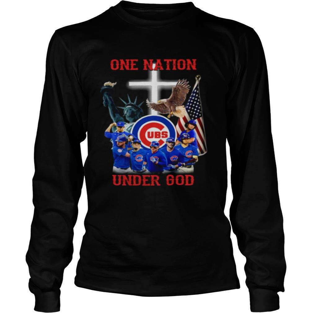 Chicago Cubs Baseball One Nation Under God