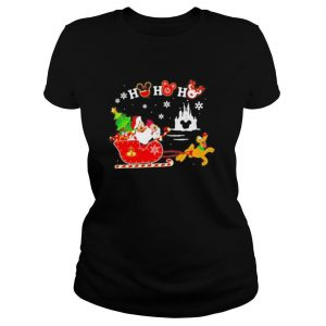 Merry christmas mickey mouse ho ho ho shirt