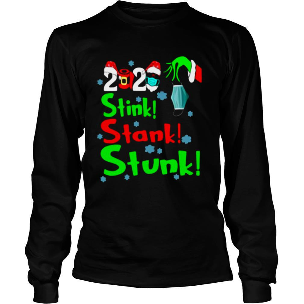 Stink Stank Stunk Funny Grinch Holiday Christmas shirt