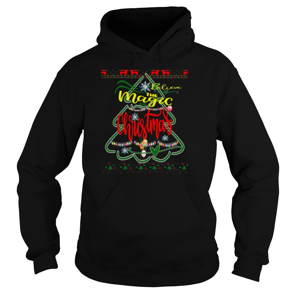 Merry Christmas 2020 I believe in the magic of Christmas shirt