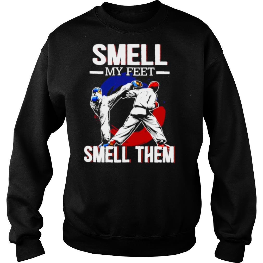 Smell my feet smell them shirt