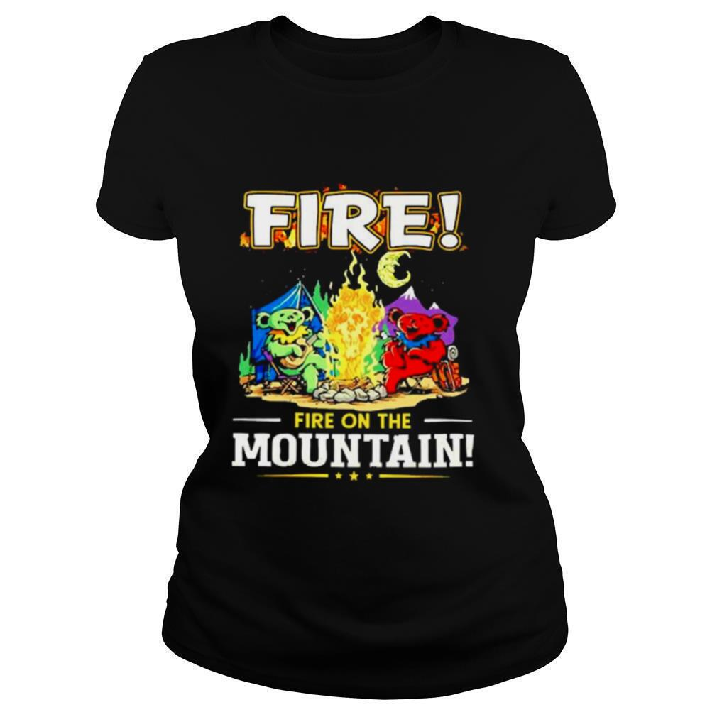 Fire on the Mountain Camping shirt