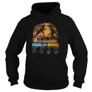 Godzilla Vs Kong 2021 Season Signatures shirt