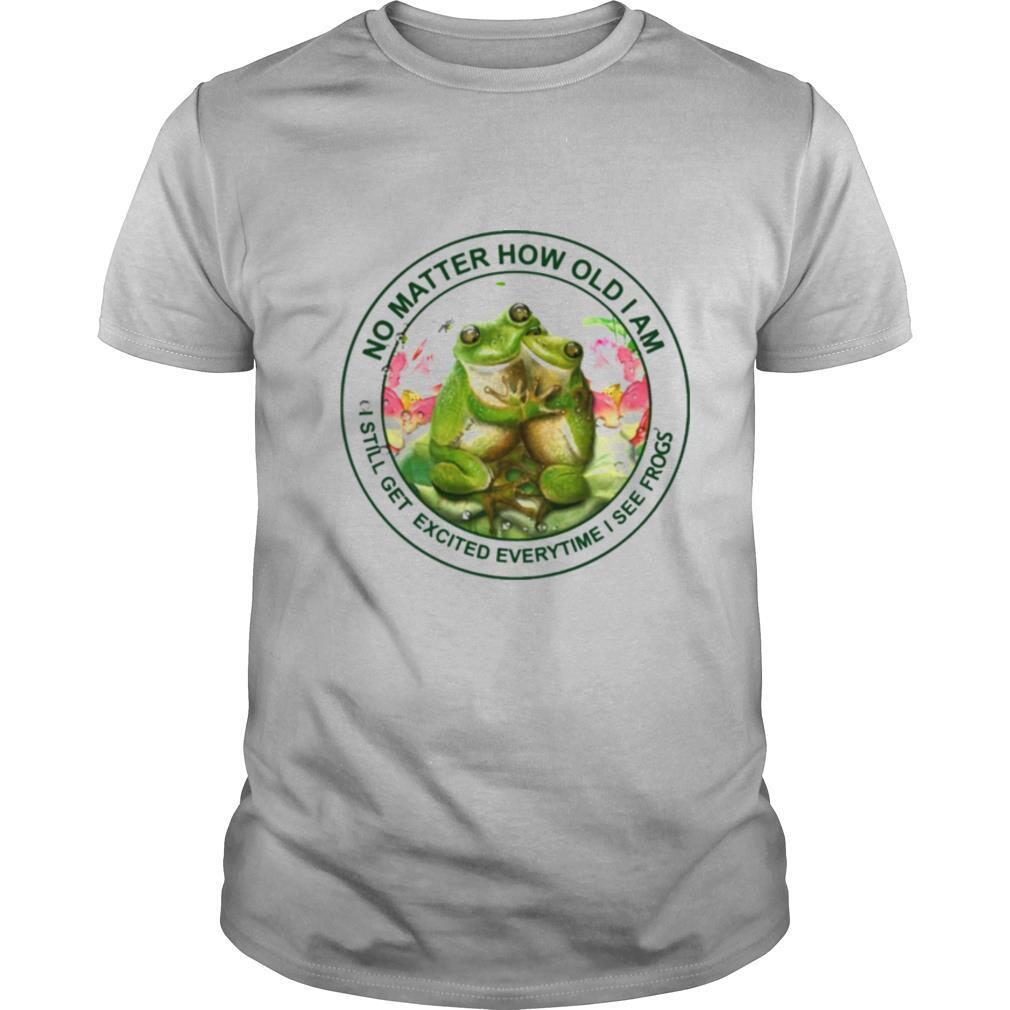 No matter how old I am I still get excited everytime I see frogs shirt