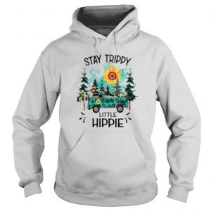 Camping Stay Sunflower Trippy Little Hippie Shirt