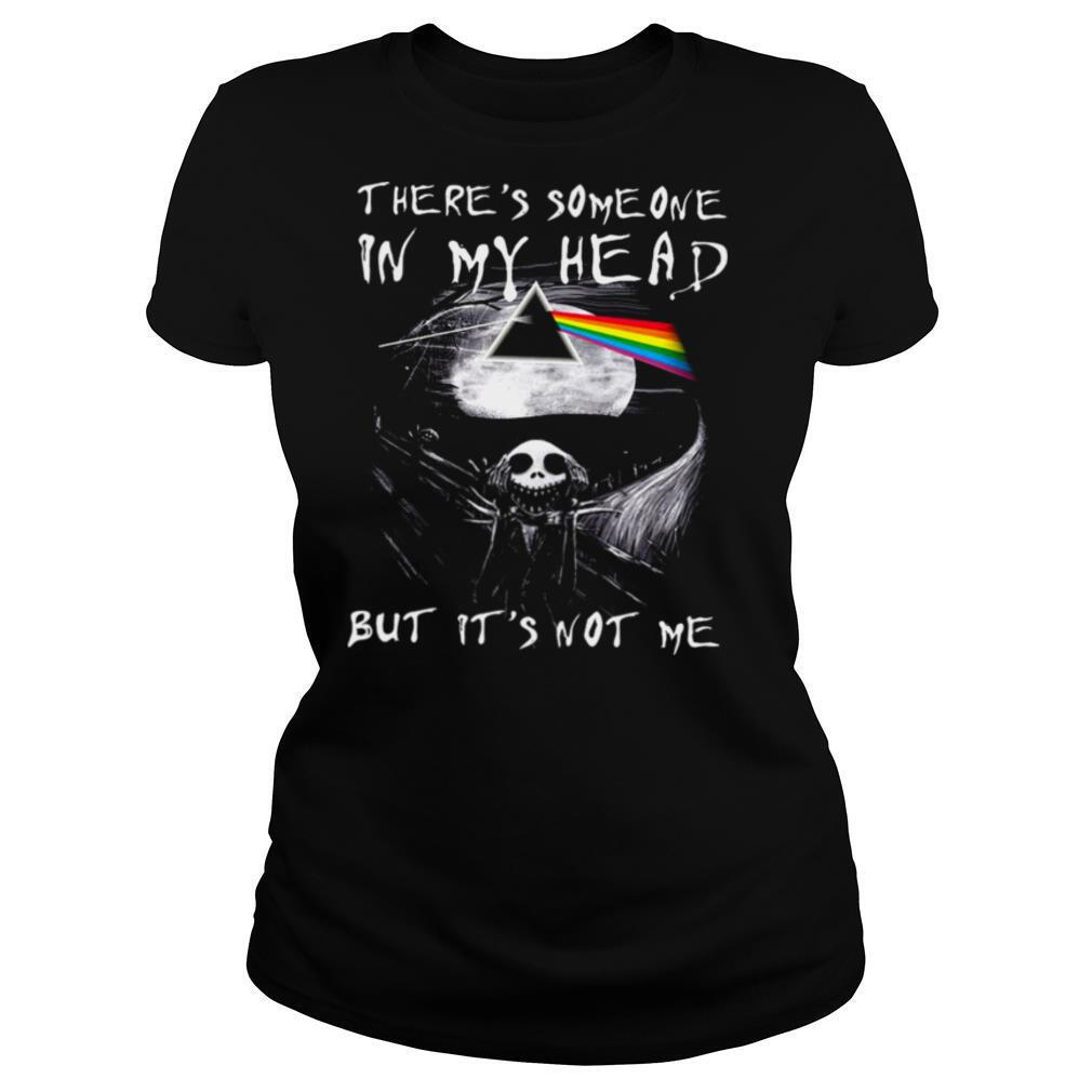 Skellington There's someone in my head but it's not me shirt