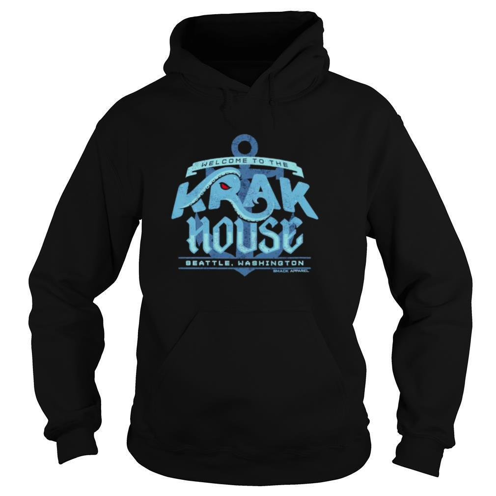 Welcome to the Krak House Seattle Hockey shirt