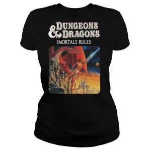 Dungeons and Dragons Immortals Rules shirt
